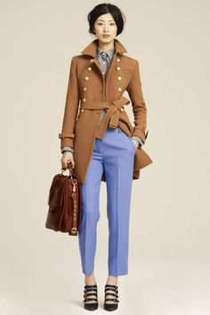 J.Crew-past collection. Even though it is out of fashion, I still love this look.