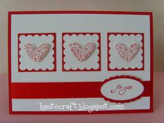 babybluegirl - Simply Said Valentines Card by babybluegirl - Cards and Paper Crafts at Splitcoaststampers