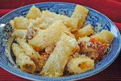Sundried Tomato and Goat Cheese Rigatoni from @Juanita's Cocina