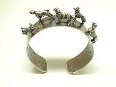 """Dog Cuff Bracelet"" by Kristin Lora"