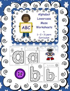 I have added lowercase maze worksheets to the 1 - 2 - 3 Learn Curriculum web site.  Jean  1 - 2 - 3 Learn Curriculum