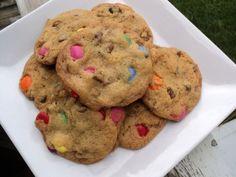 Famous Smartie Cookies