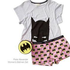 Peter Alexander Sleepwear Batman Sets, Pjs, Snuggles, Catcher, Lounge Wear, Sleep, Canada, Cozy, Cartoon