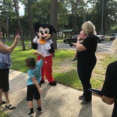 Birthdays are better with Mickey!  #mascots #BirthdayPartyRentals