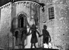 Segovia en blanco y negro