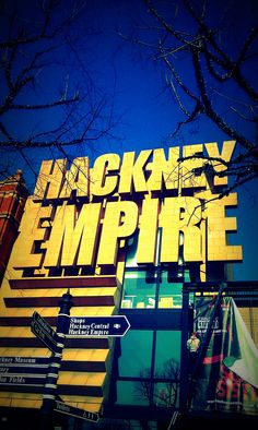 Gorgeous pic of the one and only Hackney Empire.