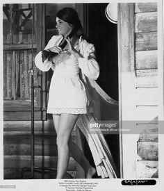 Actress Katharine Ross in a scene from the movie 'Butch Cassidy and the Sundance Kid', 1969.