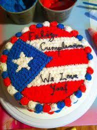 Puerto Rico Baking Desserts, No Bake Desserts, Puerto Rico, Pr Flag, Decorator Frosting, Birthday Parties, Birthday Cake, Puerto Rican Recipes, Sweet Cakes
