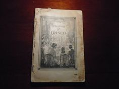 The Story Of Crisco / !914 Book of recipes by Crisco / Crisco Shortening / Old Recipe Book / Recipe Book by Montyhallsshowcase on Etsy