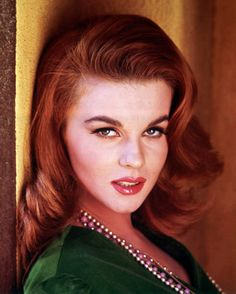 Ann-Margret ~ I'm gonna copy this style as my hair is the right length for it!
