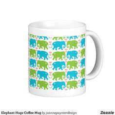 Elephant Hugs Coffee Mug $15.95