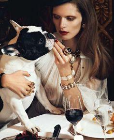 """Vogue Paris """"Chic Ultime"""" (aug 2012) ~ Styling: Géraldine Saglio"""
