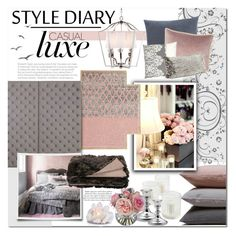 """""""Blush"""" by qrystal5to9 ❤ liked on Polyvore featuring interior, interiors, interior design, hogar, home decor, interior decorating, Hawkins, Designers Guild, Gandía Blasco y Fable"""