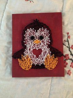 Creative Diy String Art Ideas Projects (Step-By-Step Tutorial) Cute Crafts, Yarn Crafts, Crafts To Make, Arts And Crafts, Diy Crafts, String Art Templates, String Art Patterns, Nail String Art, String Crafts