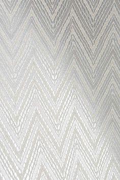 Shimmering Chevron Wallpaper - anthropologie.com