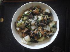 Wokpaksoi met chinese kool en paddenstoelen | | Goed en gezond eten