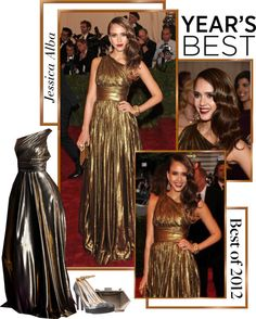 """""""Best of 2012- Jessica Alba"""" by roxy75 ❤ liked on Polyvore"""