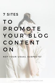 The 7 sites you should be sharing your blog content to for maximum reach and distribution. Apart from your typical suspects like Facebook and Pinterest, there's a whole raft of other places to share your blog to gain reach.