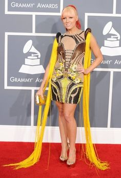 <b>Counting down the most bizarre looks seen on the red carpet over the past year.</b>
