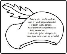 * Versje: Zwarte Piet heeft verdriet...: