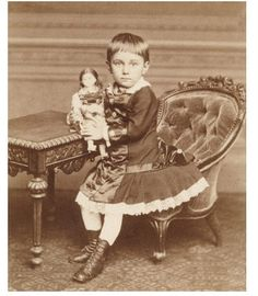 Sweet Little Girl with Doll Toy CDV Photo 1880s Fancy Child Dress Fashion | eBay