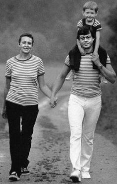 Людмила Поргина и Николай Караченцев с сыном Андрюшей