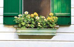Make a Window Box with Vintage Trim