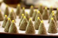 Christmas Tree Cookies. So cute!