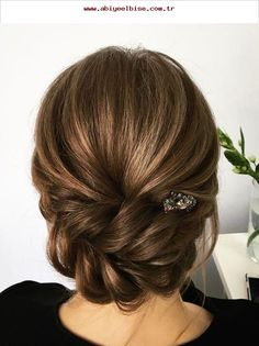 The Most Beautiful Hairstyles Gorgeous Bridal Head and Bun Hairstyles - Bridal Hair – Wedding hairstyles – Evening hairstyles – Top models - Evening Hairstyles, Braided Hairstyles For Wedding, Up Hairstyles, Bridesmaid Hairstyles, Hairstyle Ideas, Bridesmaids Updos, Wedding Bridesmaids, Beautiful Hairstyles, Bridesmaid Ideas