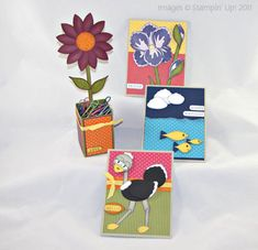 Build A Blossom Punch   Stampin' Up! Build a Blossom Stamp Set Blossom Petals Punch Art Class