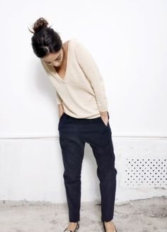 Comfy Sweater   Chinos