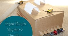 Super Simple Toy Car and Box Play - Play Adventures