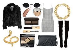 """""""Bc y not"""" by thatissonotgangsta ❤ liked on Polyvore featuring McQ by Alexander McQueen, Alexander Wang, Christian Louboutin, BERRICLE, Madina Visconti di Modrone, Christian Dior, Yves Saint Laurent and Laura Mercier"""