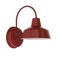 Austin Wall Sconce, Barn Wall Sconce | Barn Light Electric.  Comes in many different colors... like red!  $109.