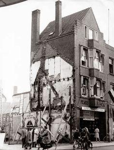 Hoek Demer / Marktstraat 1954