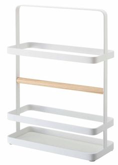 Tosca - Magazine Rack White - Yamazaki USA - $32.30 - domino.com