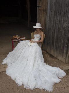 Wedding dress LEONA with long train Royal wedding dress Royal Wedding Gowns, Luxury Wedding Dress, Perfect Wedding Dress, Princess Wedding, Dream Wedding Dresses, Designer Wedding Dresses, Bridal Dresses, Corset Wedding Dresses, Wedding Dress Long Train