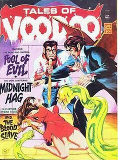 Cover for Tales of Voodoo (Eerie Publications, 1968 series) #v7#1