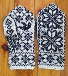 beautiful Scandinavian mittens