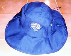 Official NFL Reebok Jaguar Safari Hat .. size L/XL (EUC) #Reebok #JacksonvilleJaguars