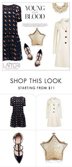 """""""LATTORI dress"""" by water-polo ❤ liked on Polyvore featuring Lattori, Valentino, ZALORA, Kate Spade, dress, dresses and lattori"""