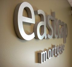 Brushed Stainless Steel Metal Letters Signs