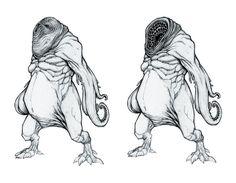 Tentacle monster by ziopredy.deviantart.com on @DeviantArt