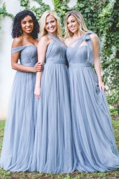 Revelry - Rosalie Convertible Dress, $175.00 (https://shoprevelry.com/Revelry-convertible-tulle-bridesmaid-dress-rosalie-convertible-dress/)