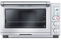 online shopping for Breville Smart Oven Convection Toaster Oven Element IQ, Silver from top store. See new offer for Breville Smart Oven Convection Toaster Oven Element IQ, Silver Best Convection Microwave, Countertop Convection Oven, Convection Cooking, Small Oven, Small Kitchen Appliances, Kitchen Small, Kitchen Gadgets, Kitchen Ideas, Specialty Appliances