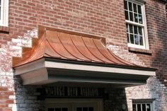 Nice looking roof Copper House, Copper Roof, Metal Roof, Front Entry, Entry Doors, Houses In America, House Trim, Front Entrances