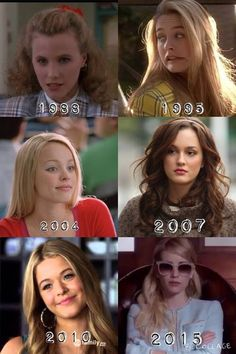 Idk Clueless Mean Girls Gossip Girl Pretty Little Liars Scream Queens<<first one is heathers Gossip Girls, Mode Gossip Girl, Gossip Girl Memes, Gossip Girl Fashion, Clueless Aesthetic, 90s Aesthetic, Sad Movies, Iconic Movies, Disney Movies