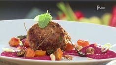 Ízes élet / Kuszkuszos húsgolyó céklás humusszal (recepttel) / supertv2.hu