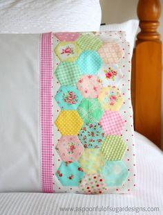 hexagon pillow tutorial