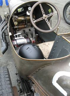 J A Prestons blimp engined cycle car